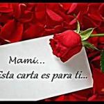 Carta a mi Madre